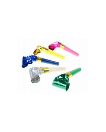 Rolovacie píšťalky -mix farieb 10ks