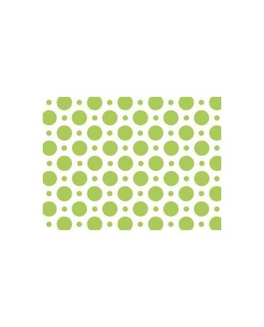 Obrus - zelené bodky 100x130cm