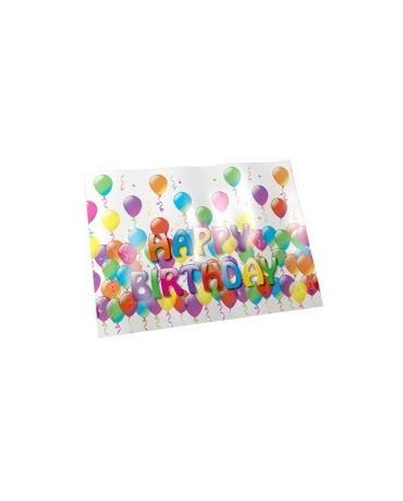 Obrus Happy Birthday 120x180cm