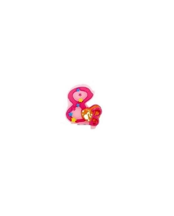 Sviečka Barbie číslica 8  1ks/P6