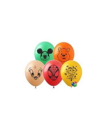 Latexové balóny rozprávkové motívy 2- 10 ks
