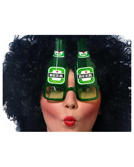 Okuliare - pivné flaše