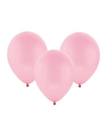 "Latexové balóny pastelové ružové 12"" 100ks"