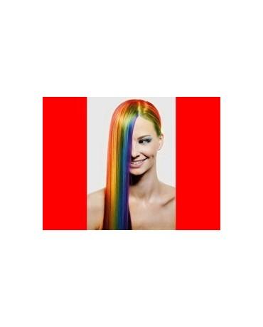 Sprej na vlasy - červený 125ml
