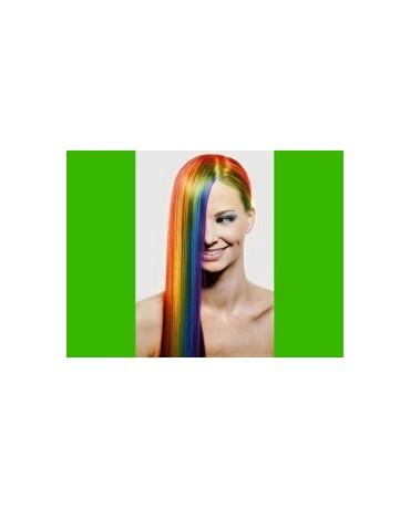 Farebný sprej na vlasy - zelený 125ml/P66