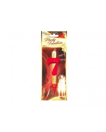Tortová fontána 12cm - číslo 7