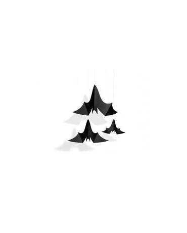 Visiaca dekorácia- netopiere 3ks