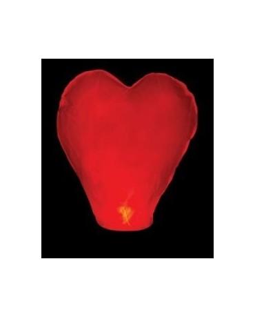 Lampión šťastia- srdce