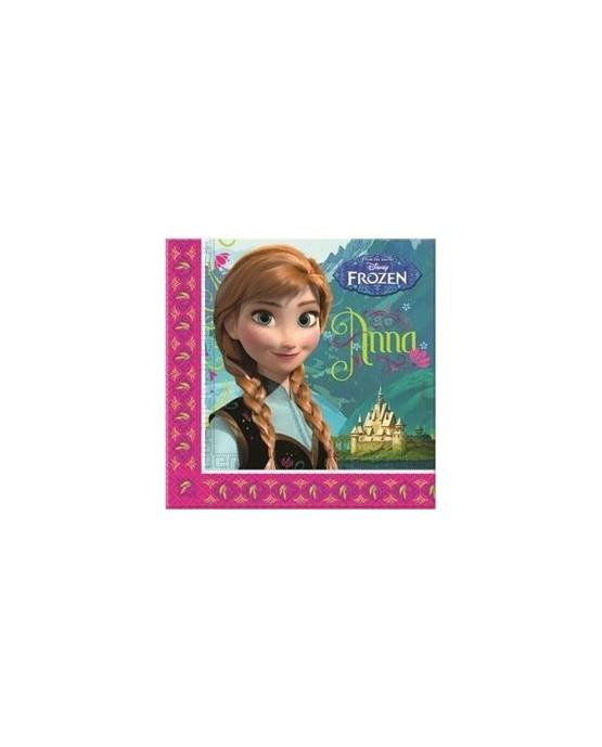 Servítky  Frozen - Anna 33cm 20ks/P129