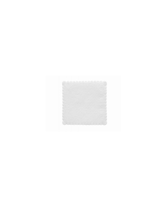 Servítky biele - 1 vrstvové 15cm 200ks/P206