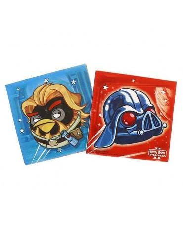 Servítky s motívom  Angry Birds - Star Wars 33cm 20ks/P192