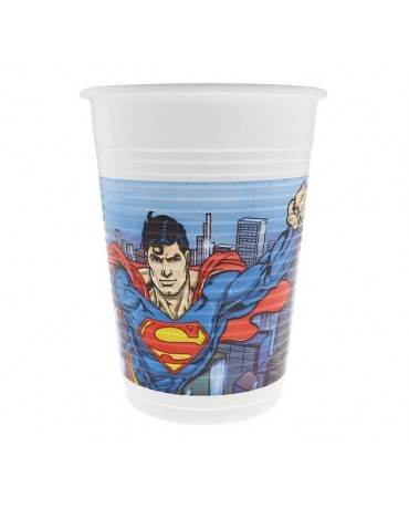 Poháre  Superman-komiks - 200 ml - 8 ks