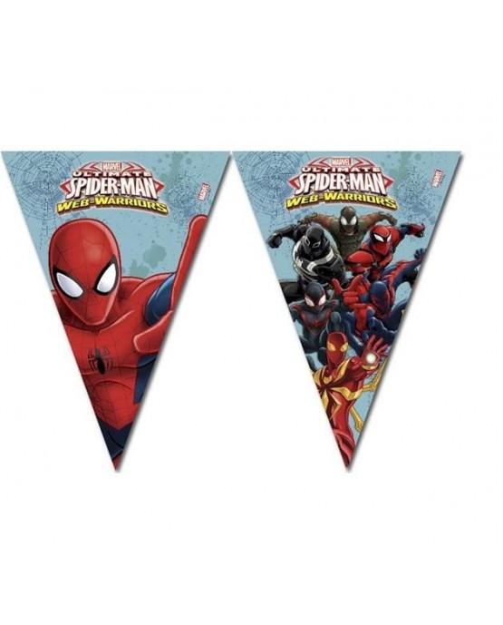 Banner vlajok -Spiderman Web Warriors 2,3m 1ks/P164