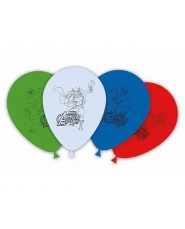 """Latexové balóny Avengers 11"""" 8ks"""