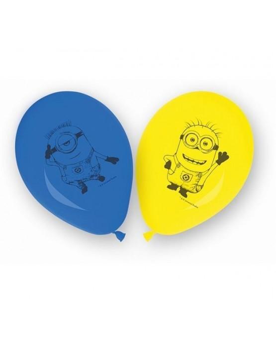 "Latexové balóniky s motívom Lovely Mimoni 11"" 8ks/P138"