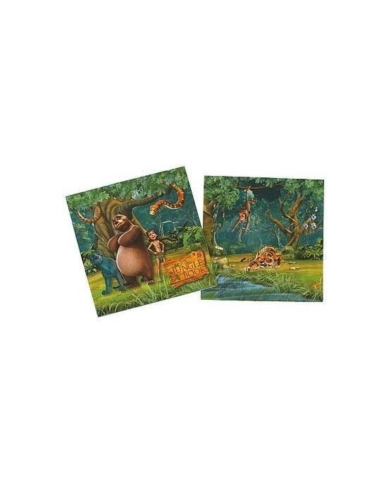 Servítky Kniha džunglí  33 x 33 cm - 20 ks./P196