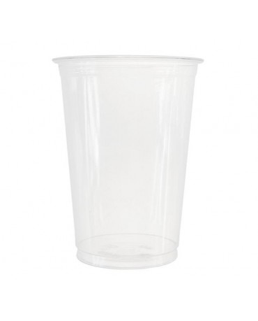 Priehľadné plast. poháre 400/550ml 50ks/P146