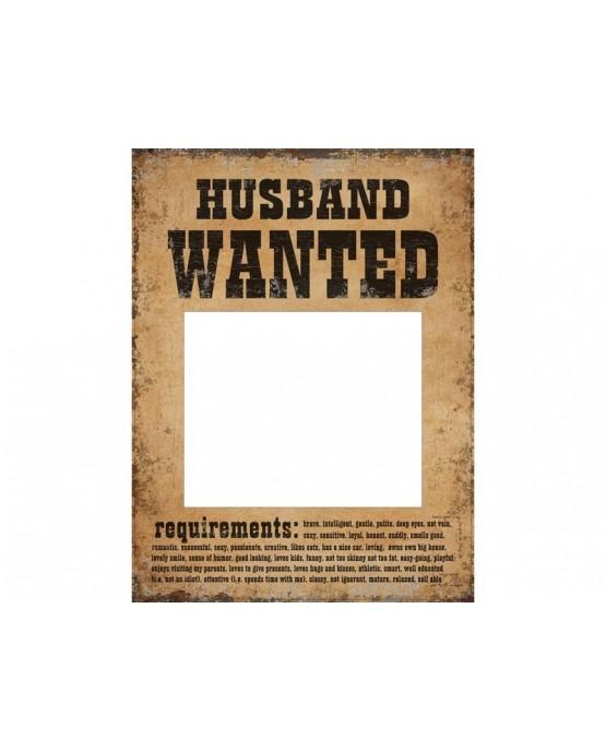 Rekvizity na fotenie - Hľadá sa manžel a manželka 2ks/P101
