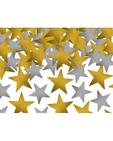 Konfety zlaté a strieborné hviezdy 7g