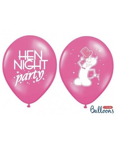 """Latexové balóny """"Willy"""" - ružové 30cm 10ks"""