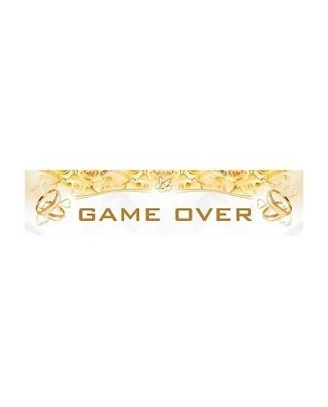 """Svadobné ŠPZ """"Game over"""" 10ks"""