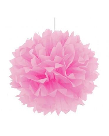 Pompón - ružový 40cm 1ks