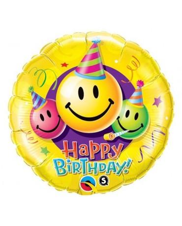 """Fóliový balón smajlíci 18"""""""