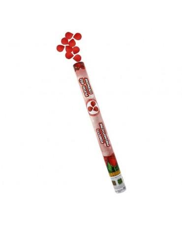 Konfety -červené lupene ruží 80cm
