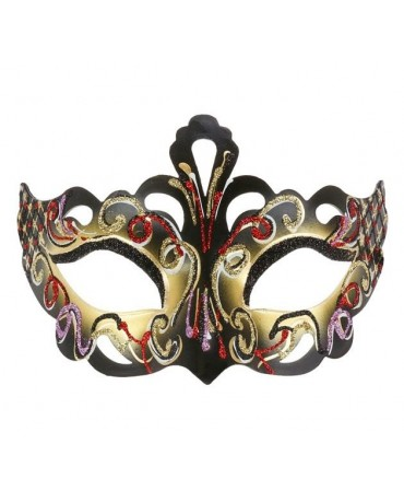 """Maska """"Magická"""" - zlatá"""