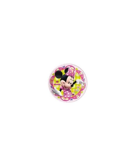 Tanieriky s motívom Minnie Mouse-Tique 23 cm - 8 ks/P140