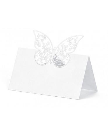 Menovky na stôl - motýľ 10ks