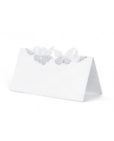 Menovky na stôl - motýľe 10ks