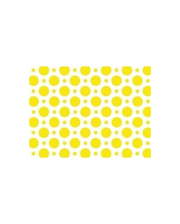 Obrus - žlté bodky 100x130cm