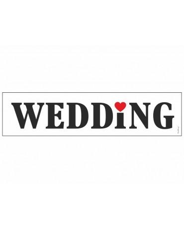 """Svadobné ŠPZ """"Wedding 10ks"""