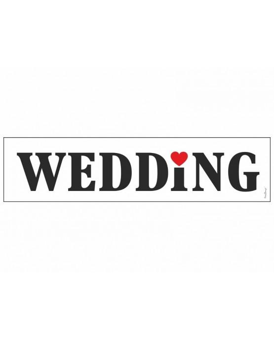 """Svadobné dosky s nápisom """"Wedding 10ks"""