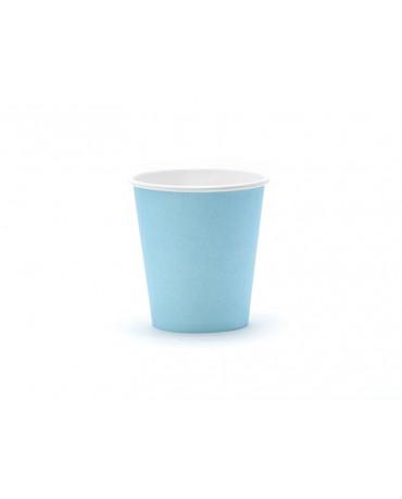Poháre - modré 200 ml 6ks