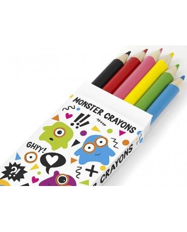 Omaľovánky s farbičkami - Monster