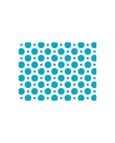Obrus - modré bodky 100x130cm