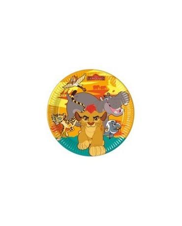 Tanieriky Leví Kráľ 23 cm - 8 ks