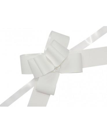 Mašľa biela 5cm
