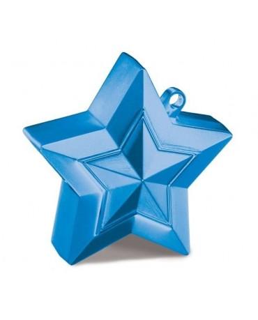 Závažie na balóny -hviezda-modrá