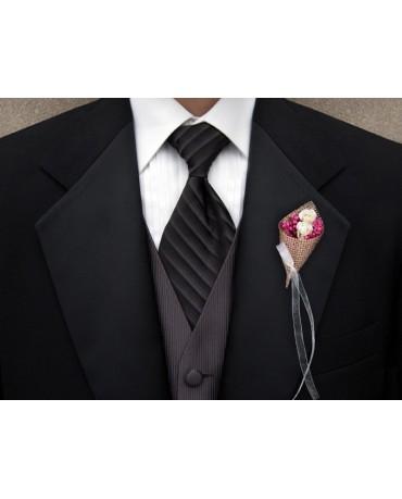 Doplnok pre svad. hostí - kvety so stužkou 2ks