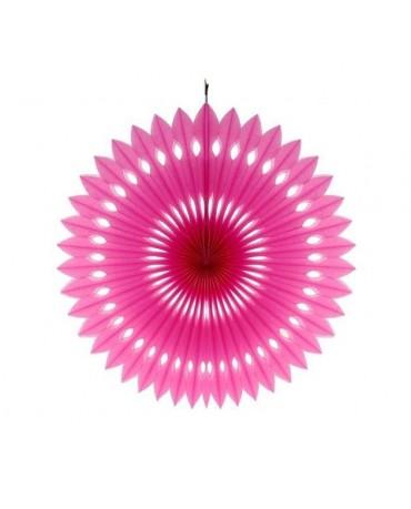 Papierová rozeta -ružová 40cm 1ks