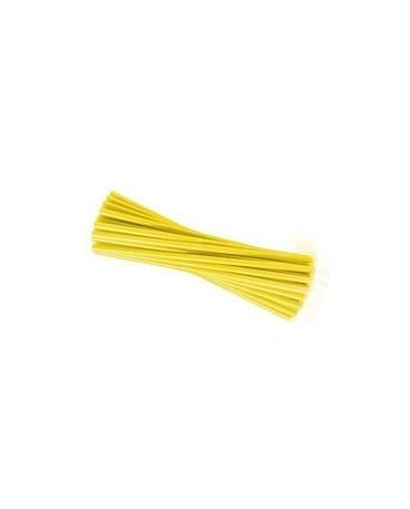 Slamky -žlté 25 cm - 20ks