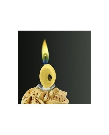 Sviečka - číslo 0 -žltý plameň