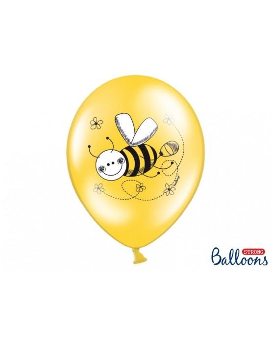 Latexové balóniky  Včiel - 10ks 37cm/P43