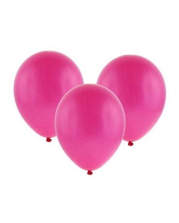 """Latexové balóny pastelové - tmavoružové 12"""" 10ks"""