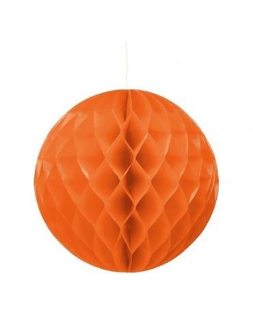 Papierová guľa- oranžová 30cm