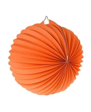 Dekorácia guľa oranžová 25cm 1ks