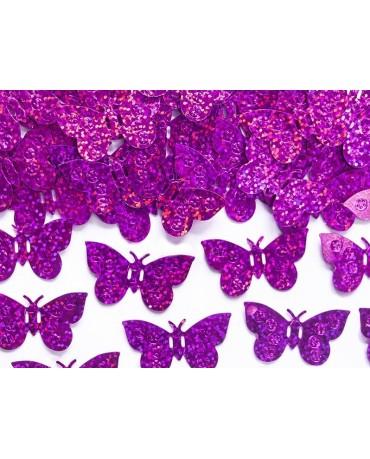 Konfety motýle - ružové 15g